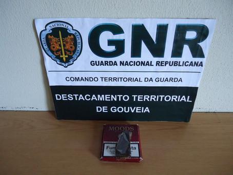 GNR detém homem em Seia por tráfico de estupefacientes