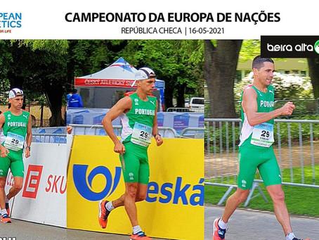 Rui Coelho, atleta de Seia, termina Campeonato da Europa de Nações - Marcha Atlética em 25º lugar