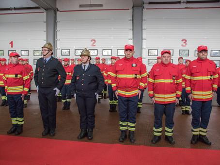 Bombeiros Voluntários de Celorico da Beira celebraram 82 anos