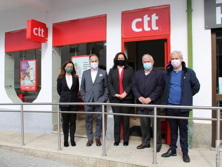 CTT reabre estação em Fornos de Algodres