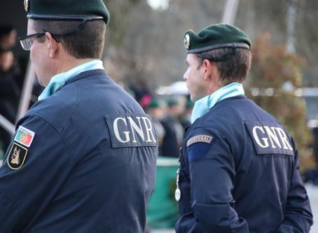 GNR da Guarda detém homem, no concelho de Trancoso, por posse de munições e material pirotécnico