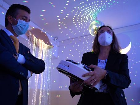 Sala Sensorial + inaugurada em Pinhel