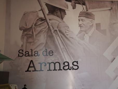 """""""Sala de Armas"""" abriu no Centro de Receção da Torre de Menagem da Guarda"""