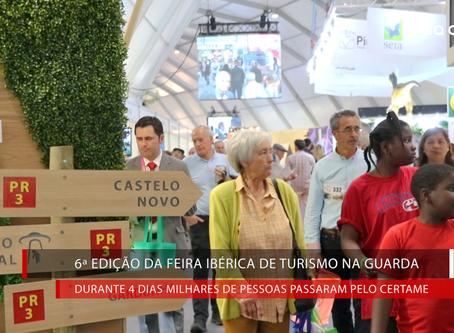 6ª Feira Ibérica de Turismo na Guarda - um verdadeiro sucesso