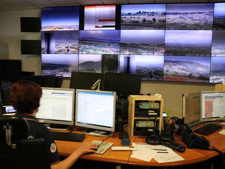 Sistema de videovigilância para deteção de incêndios rurais inaugurado na Guarda