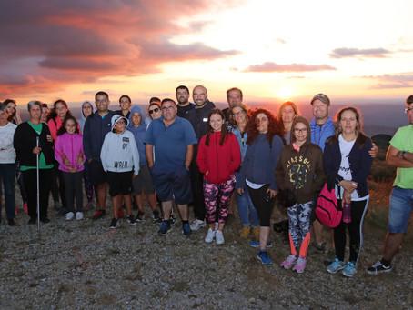Caminhada Solidária ao Pôr do Sol em Vale de Azares