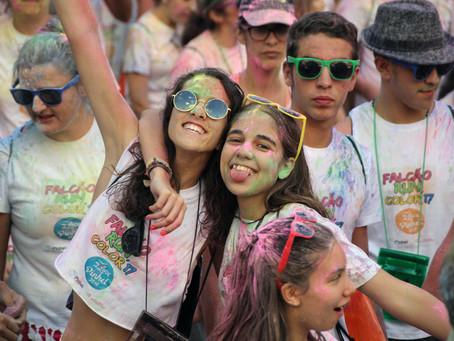 A corrida mais divertida e colorida do ano chega a Pinhel | Falcão Color Run