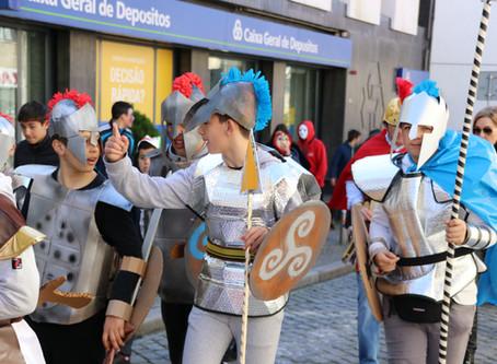 Desfile de Carnaval das crianças encheu as ruas de Celorico da Beira