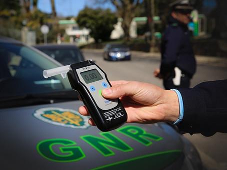 """""""Operação Taxa Zero"""" da GNR reforça controlo sobre condução sob efeito de álcool"""