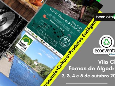 ADN+ vai trazer Arte, Desporto e Natureza a Vila Chã, Fornos de Algodres, entre 2 e 5 de outubro
