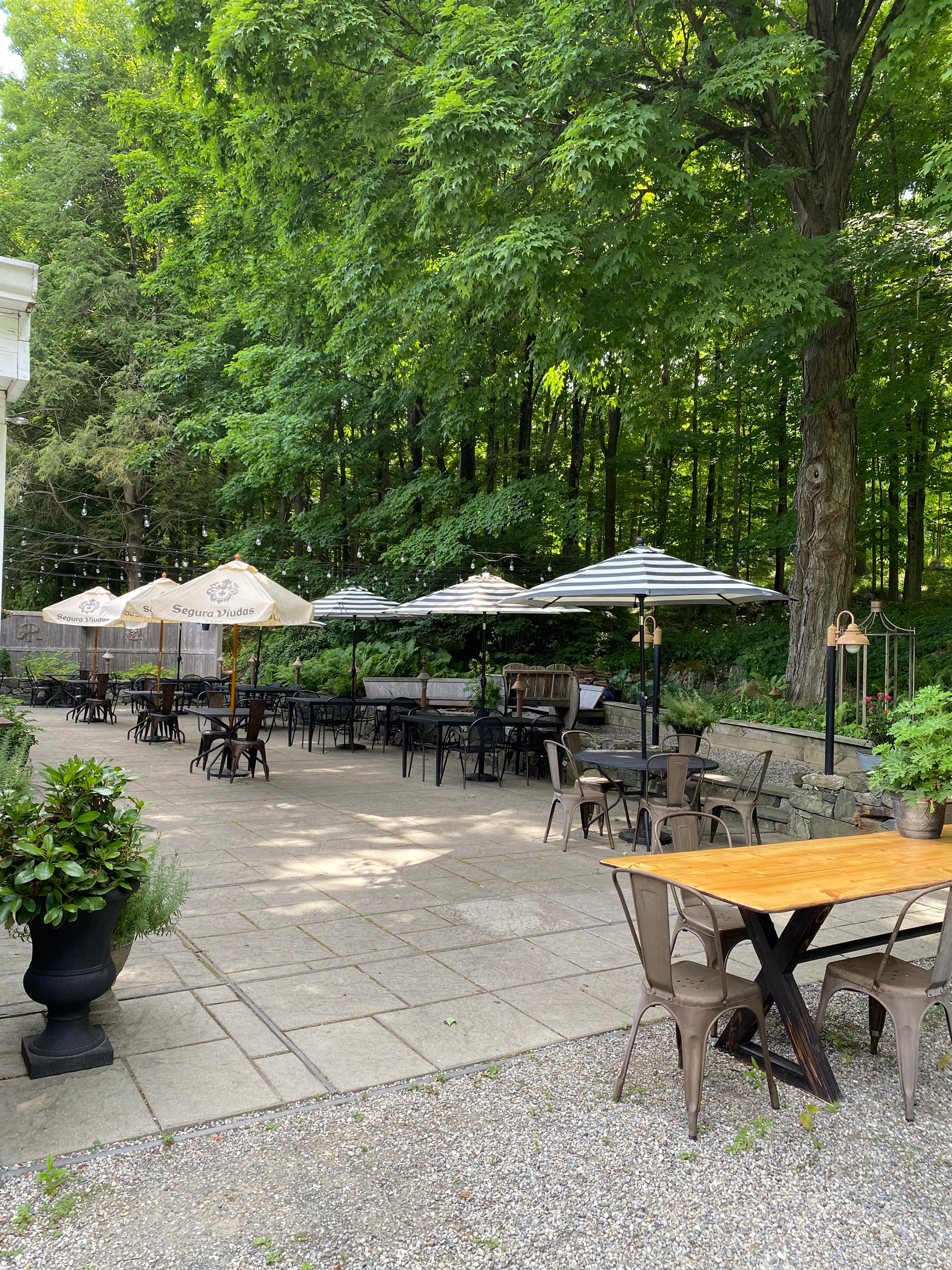 The Outdoor Patio - Private Event Venue