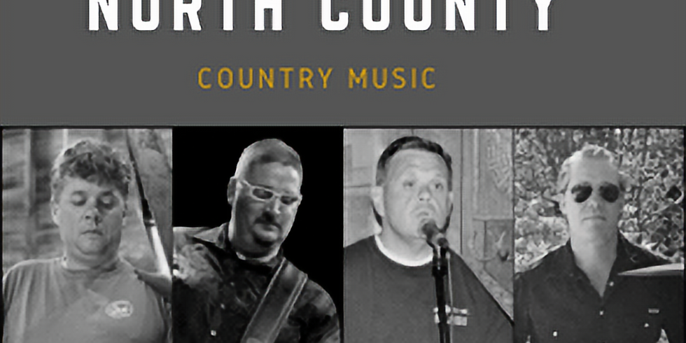Live Music:  North County Band *reservations required