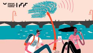 Eco Glitter sponsors of Internet Freedom Festival 2018