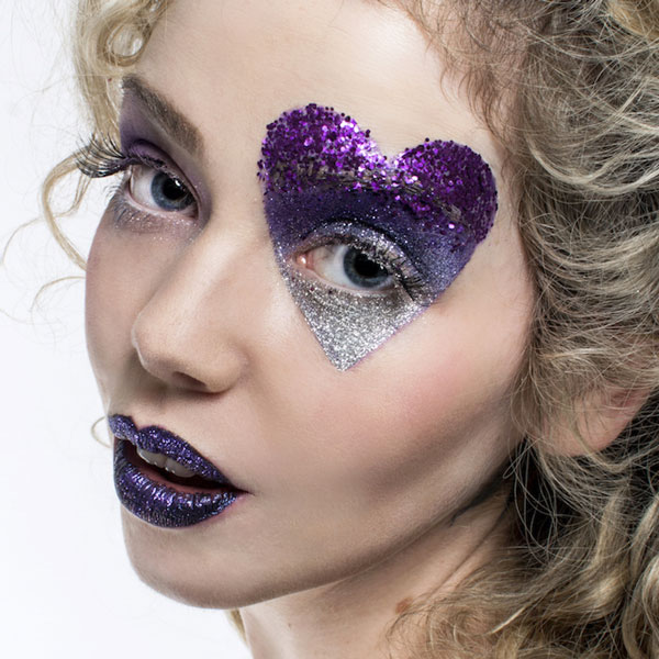 Silver-and-purple-eye-glitter-ecoglitter