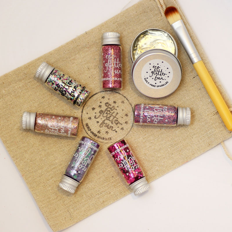 The perfect vegan, eco friendly and plastic free Christmas gift for girls, boys and all glitter lovers.