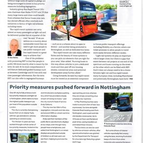 Alan Bailes, BRT UK's Chairman talks BRT with CIHT's Transportation Professional magazine