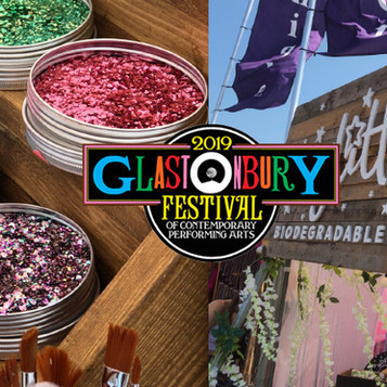 Eco Glitter Fun short-listed for most sustainable trader at this year's plastic-free Glastonbury