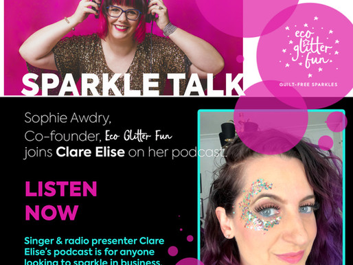The Clare Elise Podcast: The Sparkly edition with Sophie Awdry