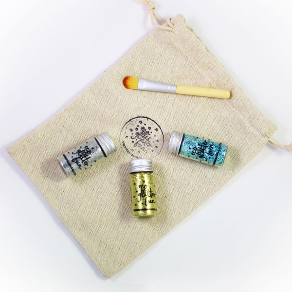 Eco Glitter Fun's craft sets, suitable for face, body and crafts.