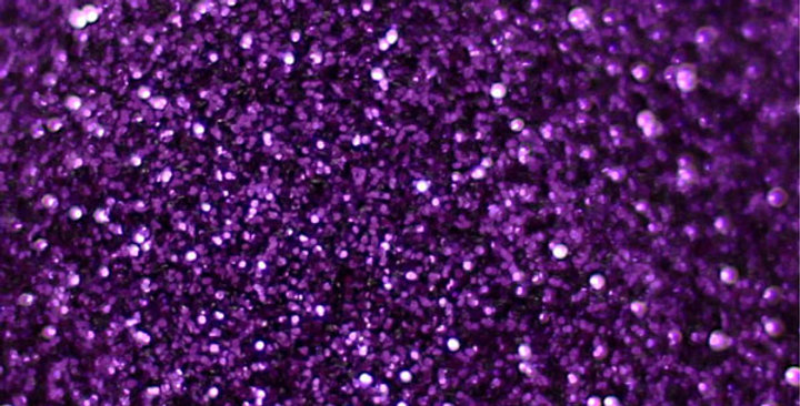 amethyst purple standard, biodegradable glitter