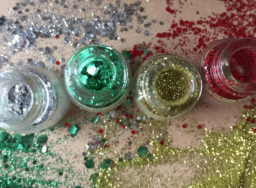 Christmas craft ideas from Eco Glitter Fun
