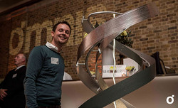 Winner of the sculpture competition,