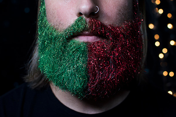 eco glitter beards for christmas stocking fillers!