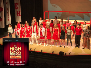 high school musical by Spa Theatre Juniors, Leamington Spa Theatre Group