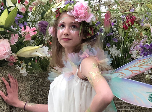 An Eco Glitter Fairytale at Chatsworth Flower Show