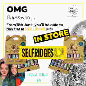 buy eco glitter kits in store at Selfridges in London