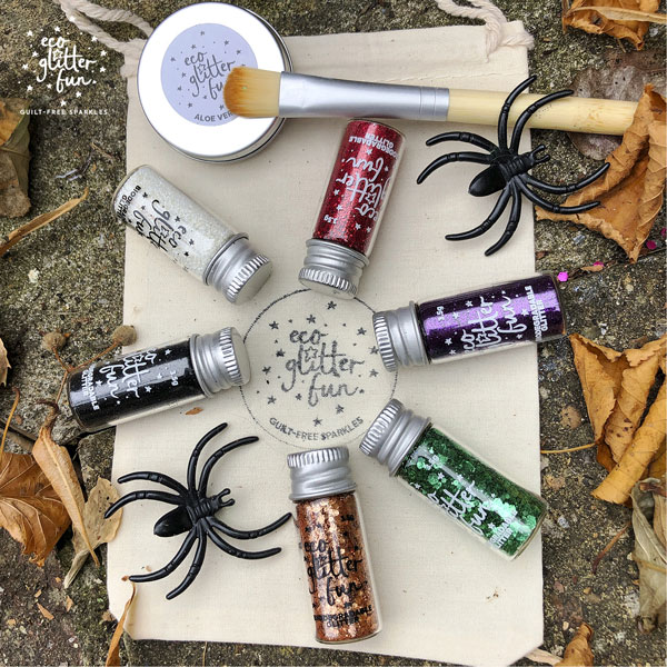 eco glitter fun halloween kit