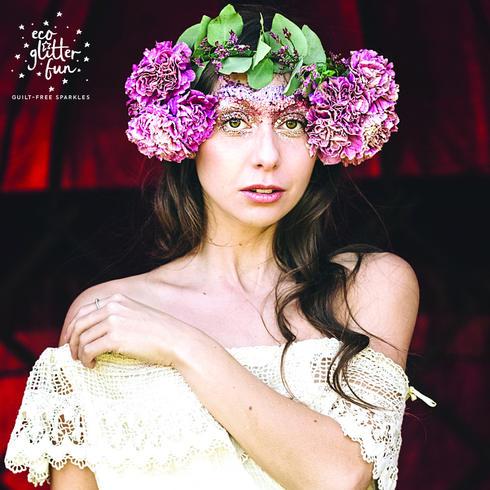 Festival glitter makeup ideas