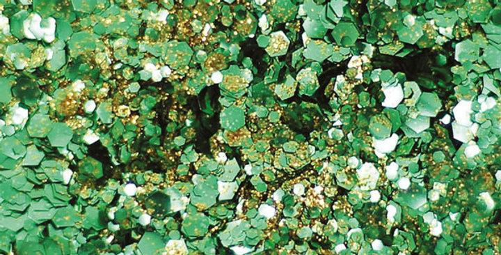 St. Patricks day blend of biodegradable glitter