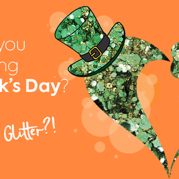 Add some 'Luck of the Irish' guilt-free sparkles to St Patrick's Day