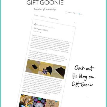 Vegan gift guide from Gift Goonie