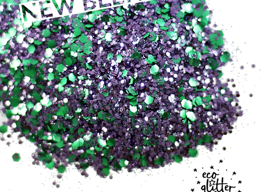 The Hottest shades of Eco Glitter for 2018