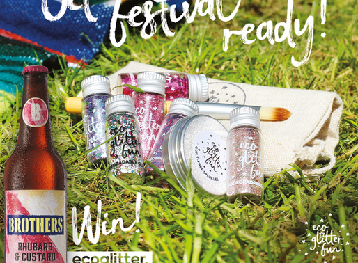 Brothers Cider Goodies & Pink Eco Glitter up for grabs!