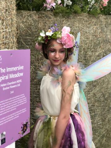 Fairy Glitter makeup!