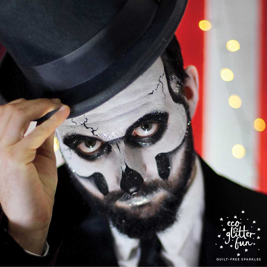 halloween makeup idea for men