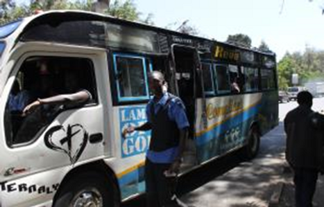 Example of Matatus in operation in Nairobi