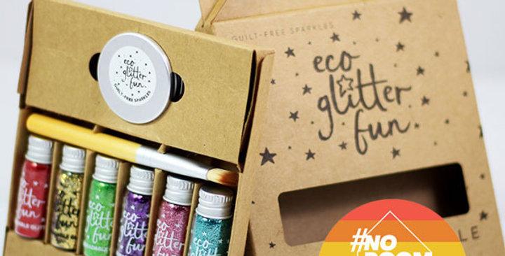 PRIDE Rainbow Boxed kit of biodegradable glitter