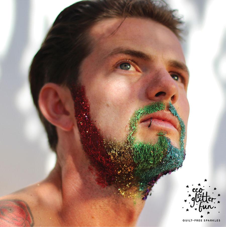 beard glitter for festivals