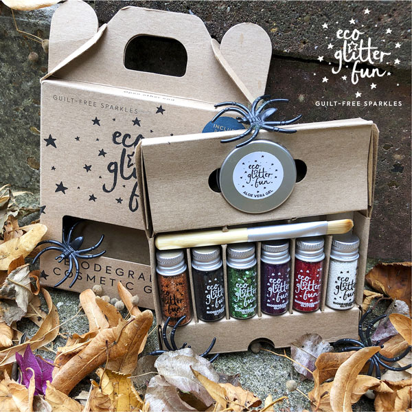halloween eco glitter kit