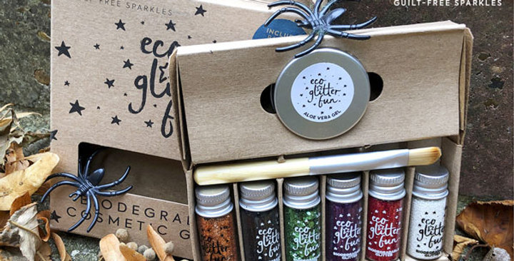 Halloween box kit of biodegradable glitter