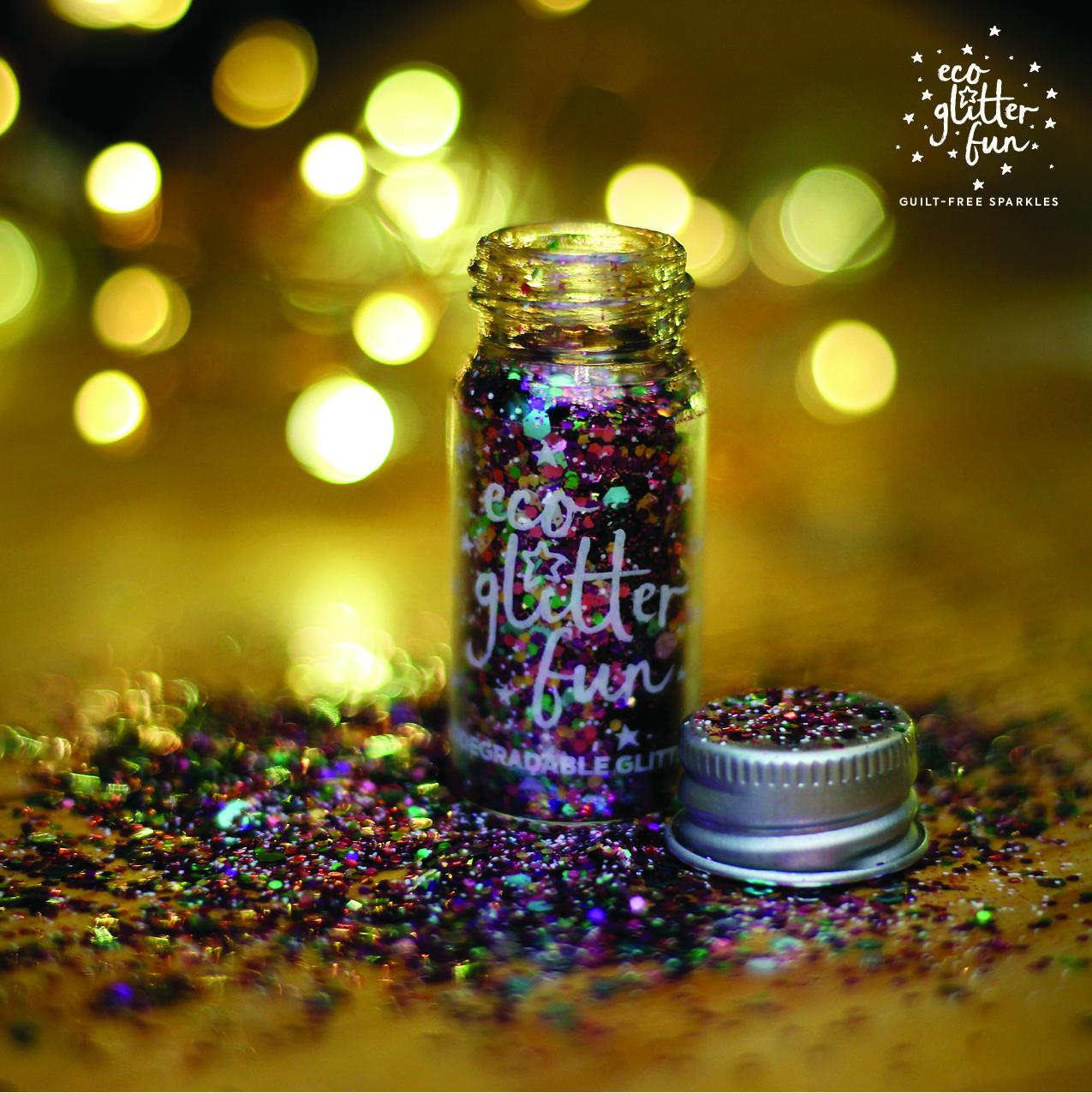 Merry-go-round glitter blend