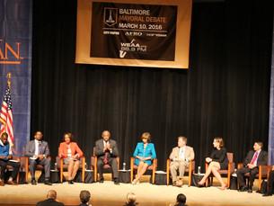 Morgan Hosts Mayoral Candidates