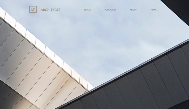 Design website templates – Architect Company
