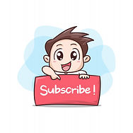 boy-with-board-sign-subscribe-illustrati