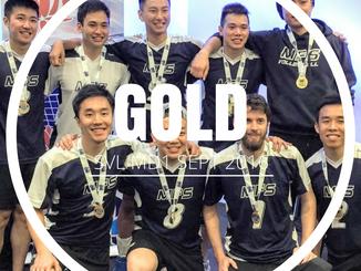 SVL Mens Div 1 2016 - Gold - September 2016
