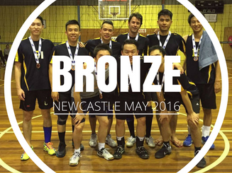 Newcastle State Cup - Bronze - May 2016